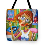Evening Dream Tote Bag