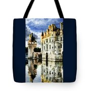 Evening Falls At The Castle Tote Bag