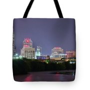 Evening Falls On Indianapolis Tote Bag