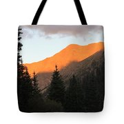 Evening Fire Tote Bag