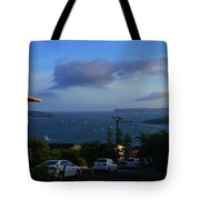 Evening For Sailing Tote Bag