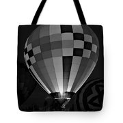 Evening Glow Bw Tote Bag