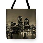 Evening In Boston Tote Bag