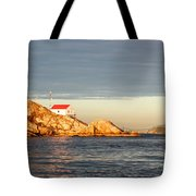 Evening In Burrard Inlet Tote Bag
