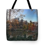 Evening In Central Park Tote Bag