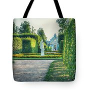 Evening In Classic Park Tote Bag by Ariadna De Raadt