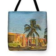 Evening In Cuba Tote Bag