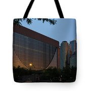 Evening In Downtown Minneapolis Tote Bag by Mike Evangelist