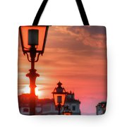 Evening In Florence Tote Bag