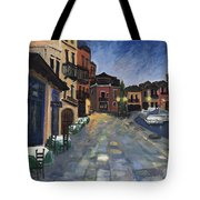 Evening In Greece  Tote Bag