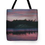 Evening In La Cloche Tote Bag