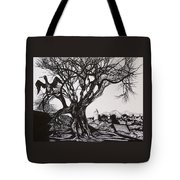Evening In Midnapore Tote Bag