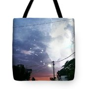 Evening In My City Tote Bag