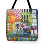 Evening In New York Tote Bag