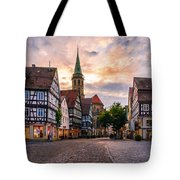 Evening In Schorndorf Tote Bag by Dmytro Korol