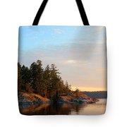 Evening In Smuggler Cove Tote Bag