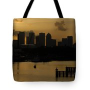 Evening In Tampa Tote Bag