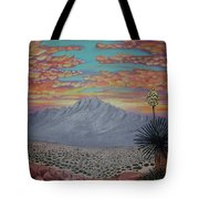 Evening In The Desert Tote Bag