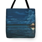 Evening In The Lagoon Tote Bag