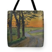 Evening In The Plain Tote Bag