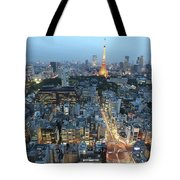 evening in Tokyo Tote Bag