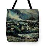 Evening Is Falling  Tote Bag