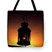 Evening Lantern Tote Bag