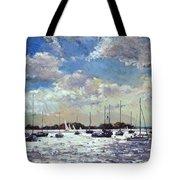 Evening Light - Gulf Of Morbihan Tote Bag