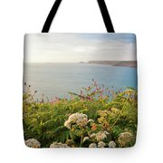 Evening Light In Cornwall Tote Bag
