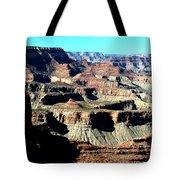 Evening Light Over The Grand Canyon Tote Bag
