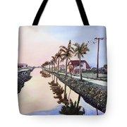 Evening Light Paramaribo Suriname Tote Bag