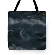 Evening Lights And Rocks Tote Bag