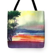 Evening Lights Tote Bag