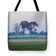 Evening Mist Tote Bag