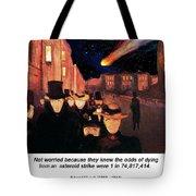 Evening On Karl Johan Street 1892 Tote Bag