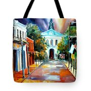 Evening On Orleans Street Tote Bag