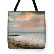 Evening On Seabright Beach Tote Bag