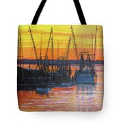 Evening On Shem Creek Tote Bag