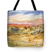 Evening On The Beach Tote Bag