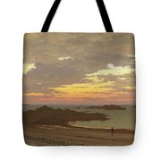 Evening On The Coast Tote Bag