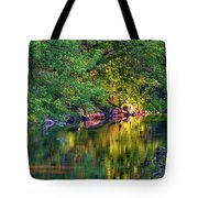 Evening On The Humber River Tote Bag