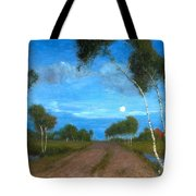 Evening On The Moor Tote Bag