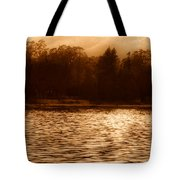 Evening On The New York Shore Tote Bag