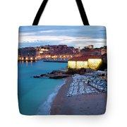 Evening Over Dubrovnik Tote Bag