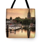 Evening Over Marlow Tote Bag