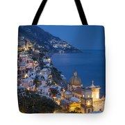 Evening Over Positano Tote Bag