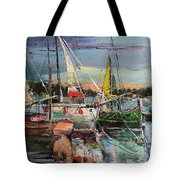 Evening Pause Tote Bag