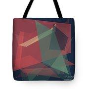 Evening Polygon Pattern Tote Bag