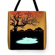 Evening Pool Tote Bag