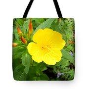 Yellow Sundrop Tote Bag